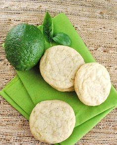 basil lime cookies.