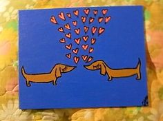 doxie-love-floating-hearts