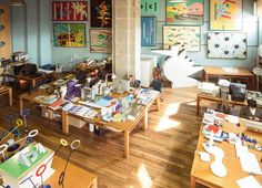 Artist Studios & Ateliers, Curated by Yellowtrace. Creative Labs, Creative Studio, Bungalow Interiors, Art Studio Organization, Home Studio, Studio Studio, Ceramic Studio, Art Studios, House Design