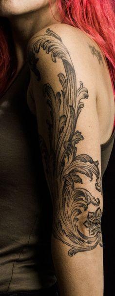 Tattoo For Women Feminine Tattoos, Trendy Tattoos, Cool Tattoos, Tattoos To Cover Scars, Cover Tattoo, Leg Band Tattoos, Sleeve Tattoos, Feather Tattoos, Nature Tattoos