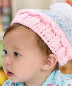 Crocheted Cupcake Hat