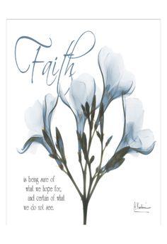 Faith Oleander in Blue