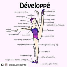 #Repost @grace.on.pointe (@get_repost) ・・・ Strength, technique, flexibility, and a good looking leotard will always make your développés look amazing. #ballet #develope #technique #ballerina #balletlove #balletlegs #hardworkers #arms #balletschool #balletdrawing #ballerinasofig #wpb
