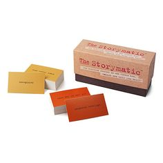 Look what I found at UncommonGoods: Storymatic Game for $29.95 #uncommongoods