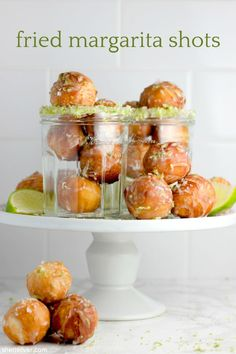 fried margarita shots | Sheri Silver - living a well-tended life... at any age Delicious Desserts, Yummy Food, Doughnut Holes, Canned Biscuits, Angel Food Cake, Quick Bread, Sweet Bread, Scones, Margarita