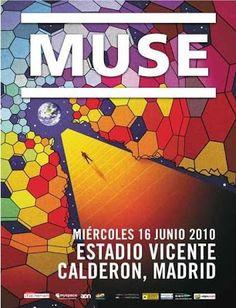 Concierto Muse. Madrid 2010