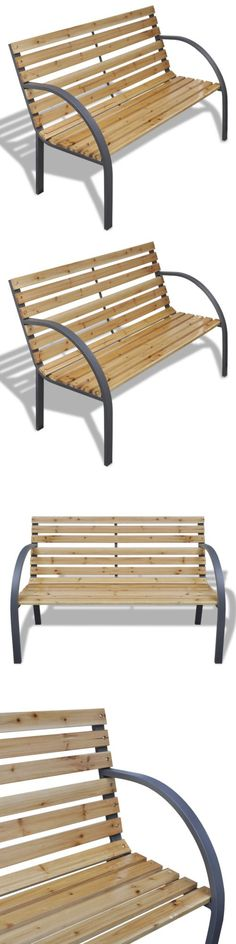 Benches 79678: Wood Bench Outdoor Garden Porch Seat Yard Furniture Glider  Chair Patio Brown  U003e BUY IT NOW ONLY: $969.99 On EBay!