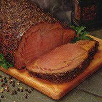 Rib Eye Beef Roast with Mustard Horseradish Topping Recipe