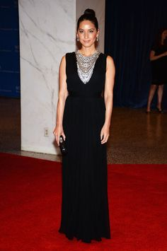 White House Correspondents Dinner Fashion 2013 - Olivia Munn