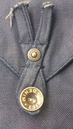 Swift denim - Interesting buttoning option