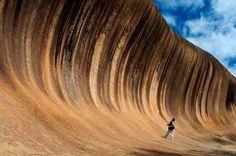 Increible ola de granito en Hyden, Australia ¿Te gustan los Tsunamis? Pues dale al bulder¡¡