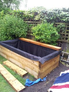 Image result for raised garden ponds