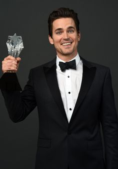 Actor Matt Bomer, winner of the Best Supporting Actor in a Movie or Mini-Series award for 'The Normal Heart,' poses for a portrait during the 4th Annual Critics' Choice Television Awards at The Beverly Hilton Hotel on June 19, 2014 in Beverly Hills, California.