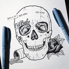 Discover recipes, home ideas, style inspiration and other ideas to try. Tattoo Sketches, Tattoo Drawings, Art Sketches, Lil Peep Tattoos, Cute Tattoos, Bear Paw Tattoos, Broken Heart Art, Sad Tattoo, Cherub Tattoo