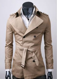 A trench or a mac coat are also good options for bad weather, especially with a suited-up look. It has become a timeless wardrobe staple, largely because it was originally designed with function rather than fashion in mind. A fitted one will prevent you looking like a wanna-be noir detective.
