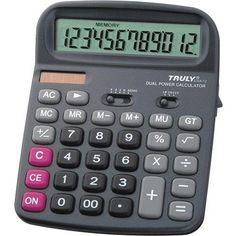 Nagy asztali számológép 1 2 karakteres Truly 836A-12 Ft Ár 1,789