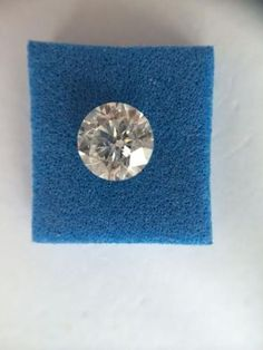 NATURAL LOOSE 0.04 CTS SI1 CLARITY SINGLE CERTIFIED ROUND DIAMOND NO RESERVE  #Aartidiamonds