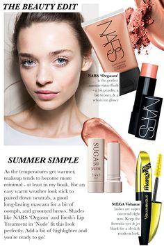 The Beauty Edit: Summer Simple| Naina Singla
