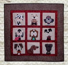 Gone to the Dogs Quilt Kits The Whole Country Caboodle