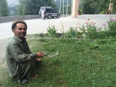 Gardener with a crooked smile✨People of Baltistan  Hunza Valley, Karimabad  Pakistan