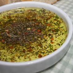 Bread Dipping Oil… wonderful spice mixture.