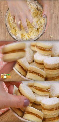 Biscoito Casadinho - Biscoito Casadinho Source by Easy Gluten Free Desserts, Quick Easy Desserts, Fun Desserts, Dessert Recipes, Vanilla Desserts, Chocolate Desserts, Other Recipes, Sweet Recipes, Recipe Cup