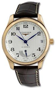 Longines Master Collection Automatic Power Reserve18k Rose Gold Mens Luxury Watch