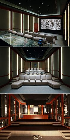 CEDIA Award Winning Home Theater With 15.1 Auro 3D Sound System.