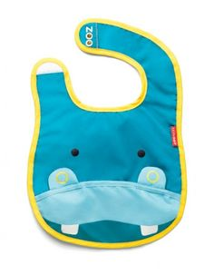 Tuck-away Bibs - Zoo Bibs are lightweight and water-resistant with a handy catch-all pocket to keep things neat and tidy at mealtime. Zoo Bibs have a clever tuck-away pouch—perfect for travel or for storing when dirty. Sam's Club, Orbit Baby, Skip Hop Zoo, Baby Nursery Furniture, Baby Registry, My Baby Girl, Baby Feeding, Baby Bibs, Baby Gear