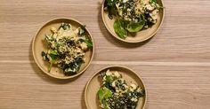 Risotto i vegansk hälsovariant. Näringsjäst ger en ostig och härlig smak!