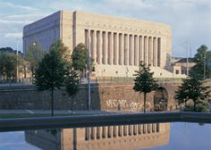 Eduskuntatalo, Helsinki, Finland. House of Parlament.
