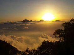 Mount Arjuna, Indonesia