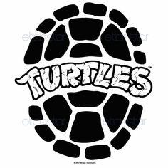 Teenage mutant ninja turtle black and white clipart - ClipartFest