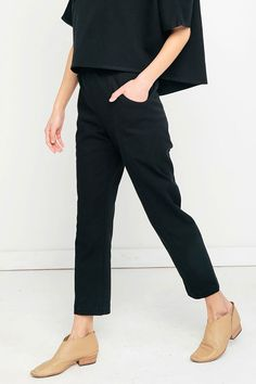 Elizabeth Suzann Clyde Work Pant | size 8 Tall