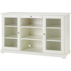 IKEA LIATORP Sideboard, white (3 220 SEK) ❤ liked on Polyvore featuring home, furniture, storage & shelves, sideboards, ikea, decor, sideboard, storage furniture, white furniture and storage buffet