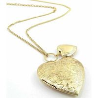 Locket Heart Necklaces  from Bed Bath & Beyond