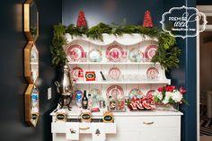 Santa Themed Hot Chocolate Bar. www.premierwed.com Premier W.E.D. 2014 Holiday Happy Hour!