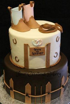 Western Gender Cake this would be adorable for Ty Brody Gender Reveal Party Games, Gender Reveal Party Decorations, Gender Party, Baby Shower Gender Reveal, Reveal Parties, Husband Pregnancy Reveal, Pregnancy Announcement To Husband, Baby Shower Gifts For Guests, Baby Shower Cakes For Boys