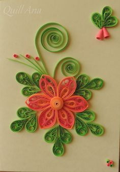 A bunch of colorfu flowers – Artofit Paper Quilling Cards, Paper Quilling Tutorial, Paper Quilling Patterns, Origami And Quilling, Quilling Craft, Quilling Designs, Rolled Paper Art, Diy And Crafts, Paper Crafts