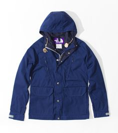 THE NORTH FACE PURPLE LABEL  Mountain Parka, love its color