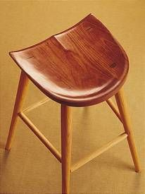 Thomas Moser stool - perfect craftsmanship