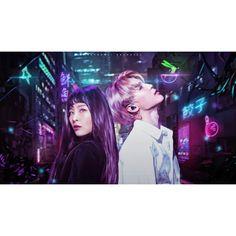 Cyberspace • Seulmin p/s lmaoooo i have to.post this after my live HAHAHAHAHHAAH p/s2 im utterly embarrassed doing that live tho HAHHAHAHAHAHAHA btw hope you like this!!!~~~~ #seulmin #jimin #seulgi #parkjimin #kangseulgi #bts #redvelvet #btsvelvet #bangtanvelvet #edit #polaristique K Pop, Jimin Seulgi, V Live, All Is Well, Kpop Fanart, Best Couple, K Idols, Cyberpunk, Red Velvet