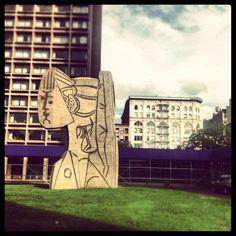 Pablo Picasso Statue - Greenwich Village - New York, NY