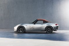 The SEMA diet: lightweight Mazda MX-5 Spyder and MX-5 Speedster in pictures by CAR Magazine