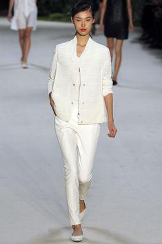 Akris Spring 2013 Ready-to-Wear Fashion Show - Tian Yi (OUI)