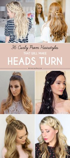 Embellish this half-up, half-down curly prom hairstyle with a cute clip, and you'll wow everyone at your prom night. This look will only take minutes to re-create once you've curled your hair. Follow the tutorial by Missy Sue.