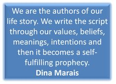 coachingself.com Self Fulfilling Prophecy, Positive People, The Script, Our Values, Our Life, Meant To Be, How To Become, Positivity, Author