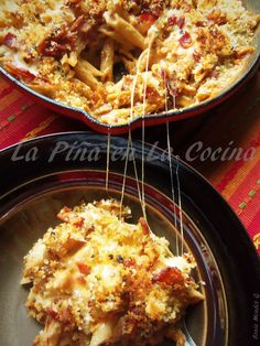 Bacon Chipotle Mac n Cheese Prepared with Whole Grain Penne Pasta