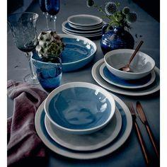 Essteller, Craquelé-Look, Landhausstil, Keramik, glasiert Katalogbild