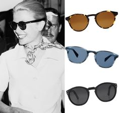 Grace Kelly's Round Sunglasses